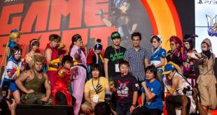 GameStart 2014 Street Fighter Cosplay Stage