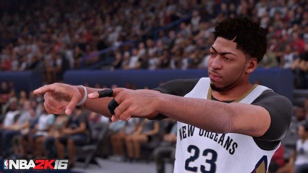 NBA 2K16 Review Davis