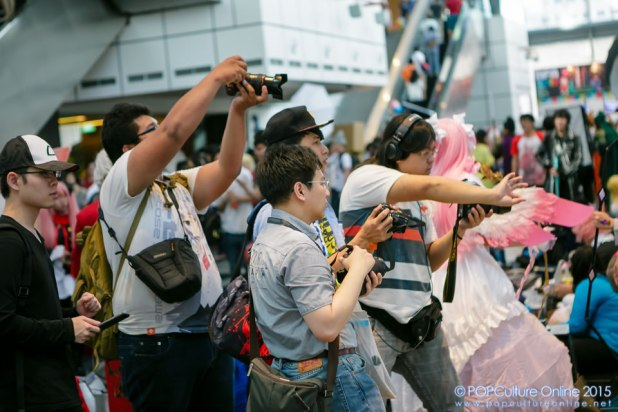 Anime Festival Asia Singapore AFASG 2015 Photographers in Action