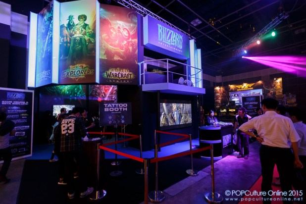 GameStart 2015 Blizzard Entertainment Booth
