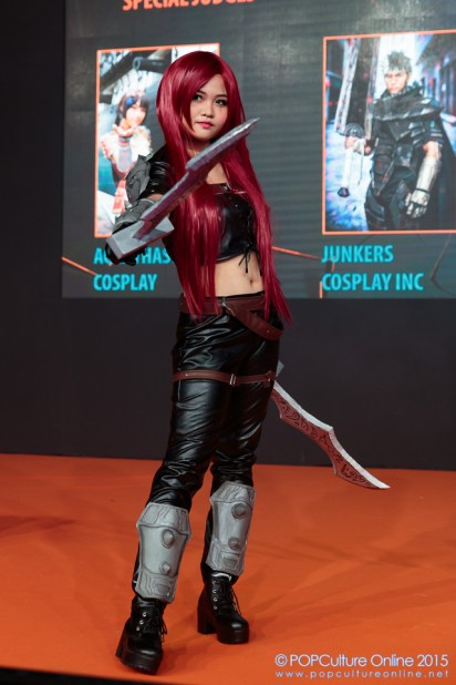 GameStart 2015 Game On! Cosplay Runway League of Legends Katarina