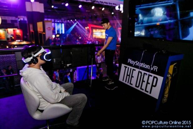 GameStart 2015 PlayStation Booth Experience PlayStation VR
