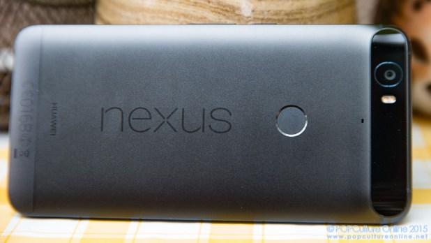 Huawei Nexus Review Back