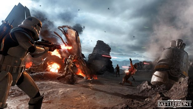 Star Wars Battlefront Review Drop Zone On Sullust