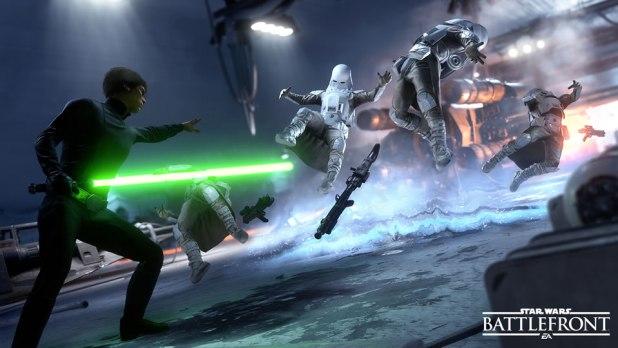 Star Wars Battlefront Review Luke Skywalker