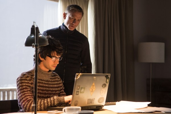 Ben Whishaw and Daniel Craig in Metro-Goldwyn-Mayer Pictures/Columbia Pictures/EON Productions' action adventure SPECTRE.
