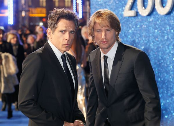 "LONDON, ENGLAND - FEBRUARY 04: Ben Stiller and Owen Wilson attend a London Fan Screening of the Paramount Pictures film ""Zoolander No. 2"" at the Empire Leicester Square on February 4, 2016 in London, England. (Photo by Getty Images/Getty Images for Paramount Pictures) *** Local Caption *** Ben Stiller;Owen Wilson"