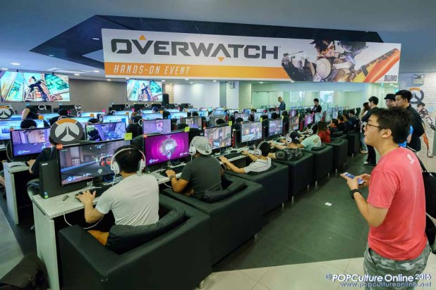 Blizzard Overwatch Closed Beta Preview Event OASIS Cafe POMO (2)
