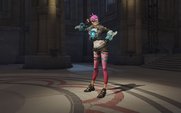 Overwatch Progression Skin Tracer Punk