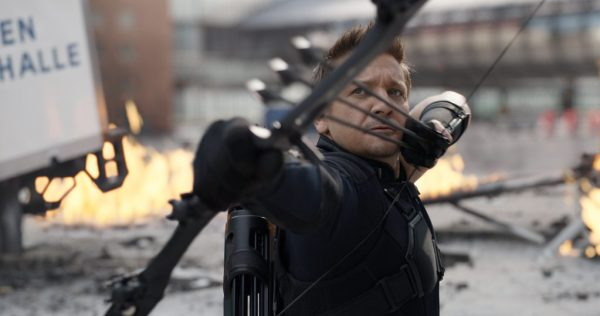 Marvel's Captain America: Civil War..Hawkeye/Clint Barton (Jeremy Renner)..Photo Credit: Film Frame..© Marvel 2016