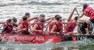 DBS Regatta 2016 Dragon Boat