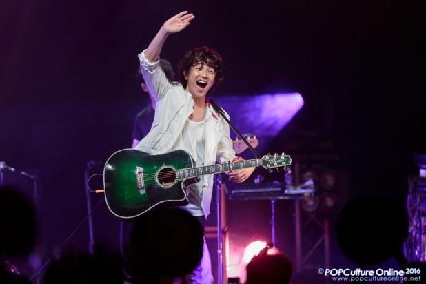 YUZU ASIA TOUR 2016 Summer NATSUIRO Singapore Yujin Kitagawa