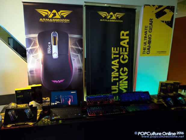GameStart 2016 Media Preview Armaggeddon Gaming Mouse Keyboard
