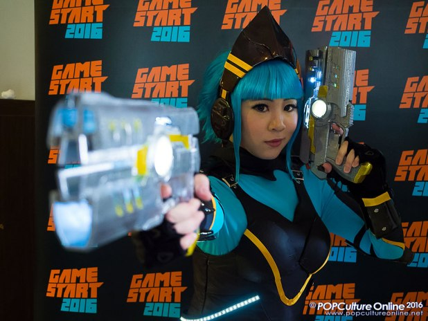 GameStart 2016 Media Preview GameStart Asia Mascot Alyse Cosplay