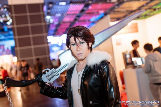 GameStart 2016 Cosplayers GameStart 2016 Cosplayers Squall Leonhart