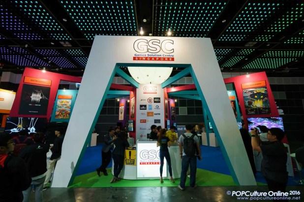 GameStart 2016 Games Solution Centre Singapore Booth
