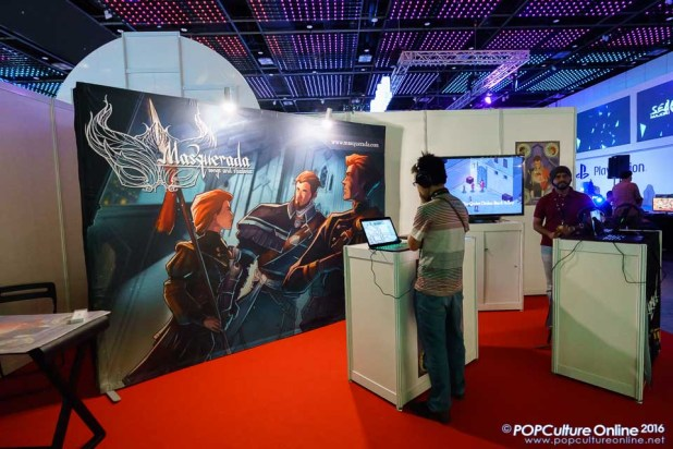 GameStart 2016 Witching Hour Studios Booth Masquerada