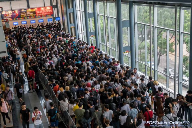 Anime Festival Asia AFASG 2016 Ticketing Booth Queue