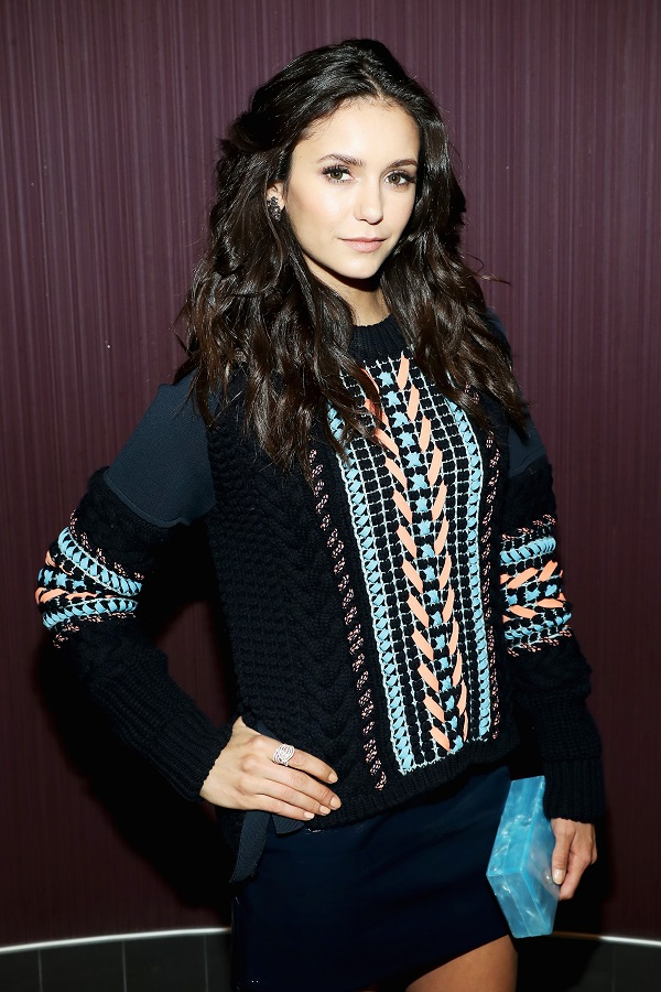 "LOS ANGELES, CA - NOVEMBER 12: Actress Nina Dobrev attends the LA screening of the Paramount Pictures title ""xXx: the Return of Xander Cage"" at Regal LA Live Stadium 14 on November 12, 2016 in Los Angeles, California. (Photo by Jonathan Leibson/Getty Images for Paramount Pictures International) *** Local Caption *** Nina Dobrev"