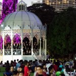 Christmas Wonderland 2016 Gardens by the Bay Cassa Armonica gazebo