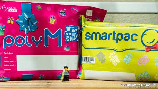 SingPost Limited Edition Festive Poly M and SmartPac mailers