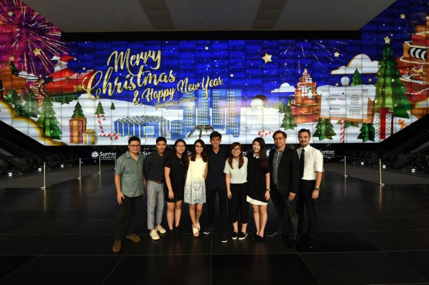 suntec-singapore-convention-and-exhibition-centre-nanyang-polytechnic-video-wall-christmas-animation-students-staff-02