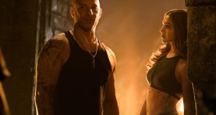 (L-R) Vin Diesel as Xander Cage and Deepika Padukone as Serena Unger in xXx: RETURN OF XANDER CAGE by Paramount Pictures and Revolution Studios