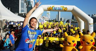 Pokémon Run Singapore 2017 Kids Wave with Masuda