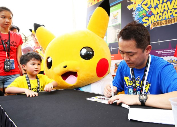 Pokémon Run Singapore 2017 Masuda Autograph Session