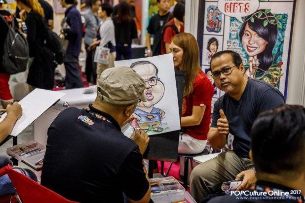 Singapore Toy Game Comic Convention STGCC 2017 CartoonSG Caricature Artists Singapore