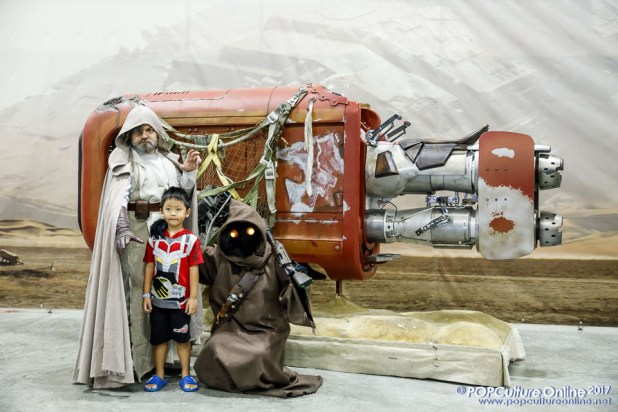 Singapore Toy Game Comic Convention STGCC 2017 Experience The Force Rey Speeder