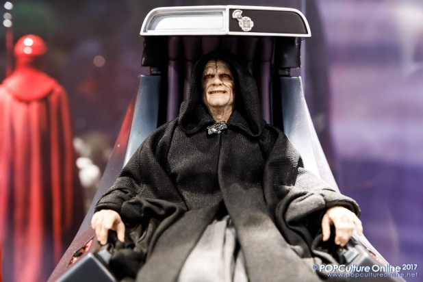 Singapore Toy Game Comic Convention STGCC 2017 Hot Toys Emperor Palpatine