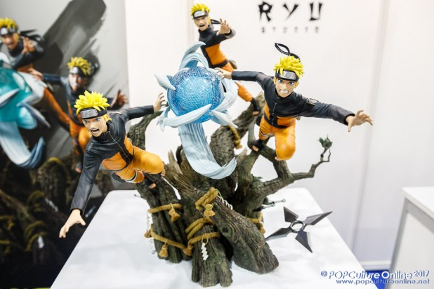 Singapore Toy Game Comic Convention STGCC 2017 Ryu Studio Naruto