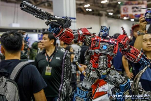 Singapore Toy Game Comic Convention STGCC 2017 XM Studios Optimus Prime
