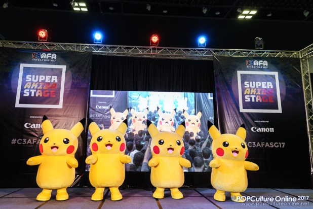 C3 Anime Festival Asia Singapore 2017 Avex Asia Pikachu