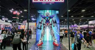 C3 Anime Festival Asia Singapore 2017 Gundam Exia