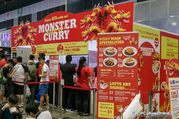 C3 Anime Festival Asia Singapore 2017 Monster Curry