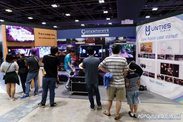C3 Anime Festival Asia Singapore 2017 Sony Playstation VR