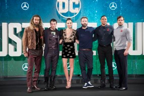 Justice League Press Tours
