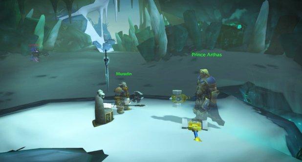 World of Warcraft Legion Leveling Guide Muradin Prince Arthas Frostmourne