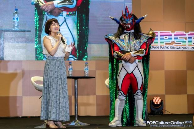 Interview with Jushin Thunder Liger Japan Park Singapore