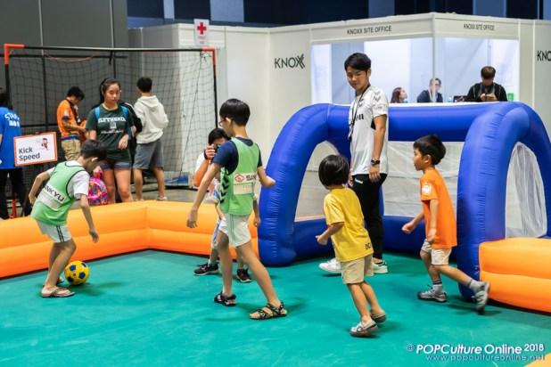 Japan Park Singapore 2018 Kid's Zone Mini Footbal