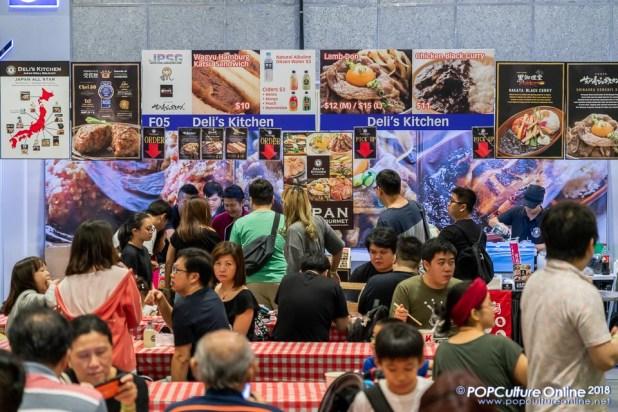 Japan Park Singapore 2018 Deli's Kitchen