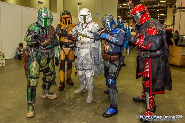 STGCC 2018 Event Cosplay Star Wars