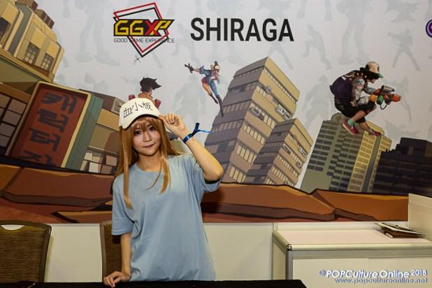 STGCC 2018 Event Guest SHIRAGA
