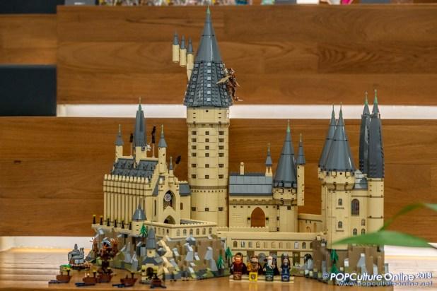 STGCC 2018 Media Preview Rachta Lin LEGO Hogwarts Castle