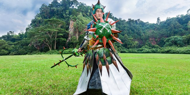 Monster Hunter Cosplay Mao Mao 01