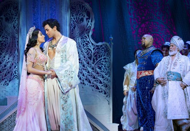 (Wedding Kiss) Graeme Isaako as Aladdin with Shubshri Kandiah as Jasmine - James Green