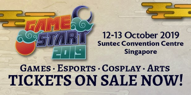 GameStart 2019 POPCulture Online Tickets On Sale Banner