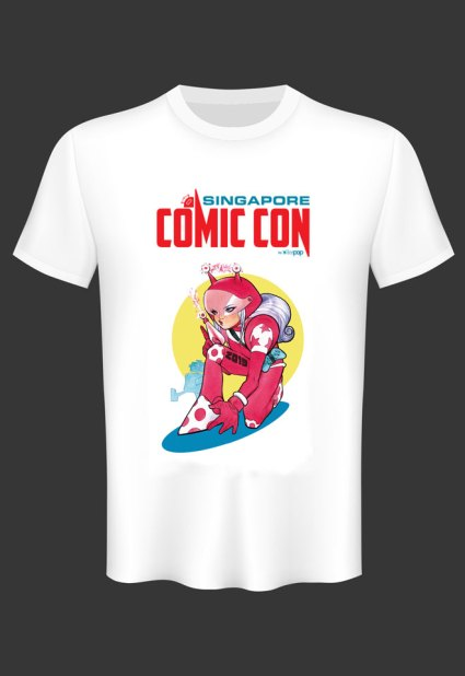 SGCC-2019 Exclusive T-shirt Peach Momoko